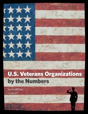 U.S Veterans Organizations by the Numbers
