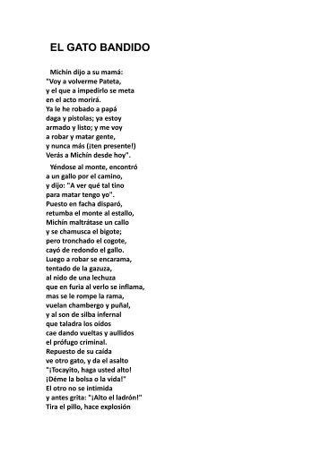 (681127512) EL GATO BANDIDO CUENTO
