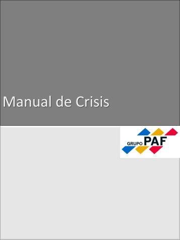 Manual de crisis