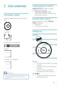 Philips GoGEAR Lettore MP3 - Istruzioni per l'uso - FIN - Page 7