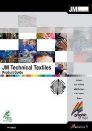 JM Technical Textiles Product Guide - Graphic Art Mart
