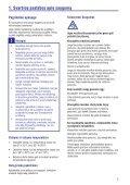 Philips GoGEAR Lettore MP4 - Istruzioni per l'uso - LIT - Page 5