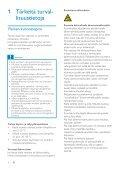 Philips GoGEAR Lettore MP3 - Istruzioni per l'uso - FIN - Page 4