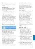 Philips GoGEAR Lettore MP3 - Istruzioni per l'uso - FIN - Page 5