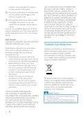 Philips GoGEAR Lettore MP3 - Istruzioni per l'uso - FIN - Page 6