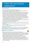 Philips GoGear Lettore audio con memoria flash - Istruzioni per l'uso - POL - Page 6