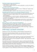 Philips GoGear Lettore audio con memoria flash - Istruzioni per l'uso - POL - Page 7
