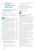 Philips GoGEAR Lettore MP3 - Istruzioni per l'uso - SLK - Page 4