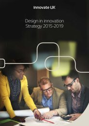 Design in innovation Strategy 2015-2019