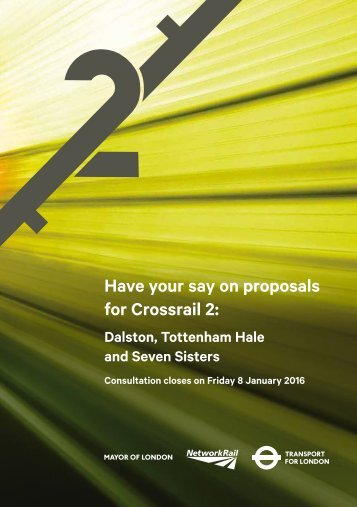 Have your say on proposals for Crossrail 2