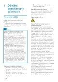 Philips GoGEAR Lettore MP3 - Istruzioni per l'uso - SLK - Page 3