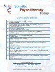 Somatic Psychotherapy Today - Page 4