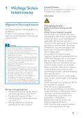 Philips GoGEAR Lettore MP4 - Istruzioni per l'uso - DEU - Page 4