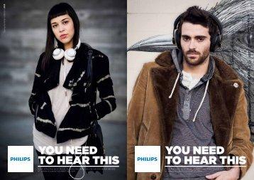 Philips Cuffie con fascia - Product Brochure - AEN