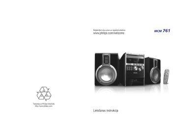 Philips Sistema Micro Hi-Fi Classico - Istruzioni per l'uso - LAV