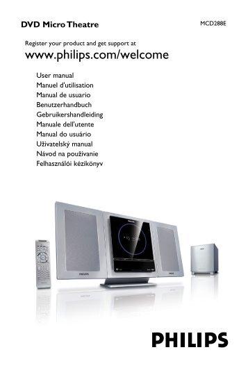 Philips Micro DVD - Istruzioni per l'uso - SLK