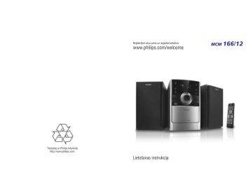 Philips Sistema audio micro classico - Istruzioni per l'uso - LAV