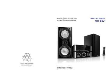Philips Micro DVD - Istruzioni per l'uso - LAV