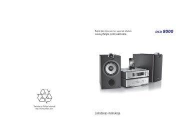 Philips Harmony Sistema Hi-Fi Component DVD - Istruzioni per l'uso - LAV