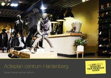 Actieplan centrum Hardenberg