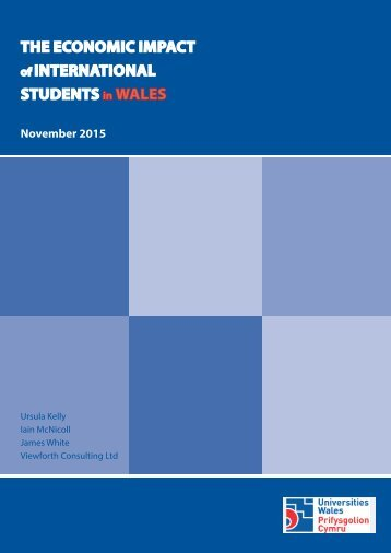 THE ECONOMIC IMPACT INTERNATIONAL STUDENTS WALES