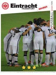 Eintracht Frankfurt Spielzeit 15/16 November 2015 Update