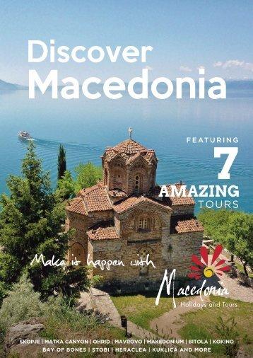 Macedonia Holidays and Tours Catalog