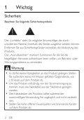 Philips Altoparlanti multimediali 2.1 - Istruzioni per l'uso - DEU - Page 4