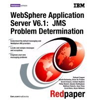 JMS Problem Determination - IBM Redbooks