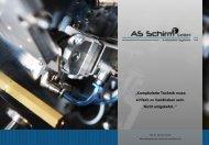 Imagebroschüre 2015 AS Schirm GmbH