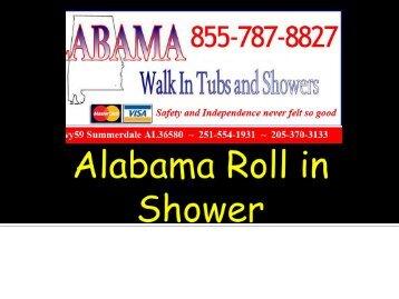 Alabama Roll in Shower
