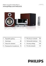 Philips Heritage Audio Sistema Hi-Fi component - Istruzioni per l'uso - RUS