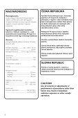 Philips Micro DVD - Istruzioni per l'uso - SLK - Page 2