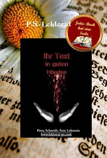 P.S.-Lektorat - Magazin