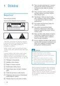 Philips Fidelio Mini altoparlanti SoundSphere - Istruzioni per l'uso - SLK - Page 3