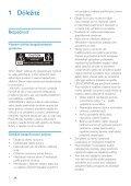 Philips Sistema audio micro classico - Istruzioni per l'uso - SLK - Page 3
