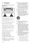 Philips Sistema musicale micro - Istruzioni per l'uso - SLK - Page 4