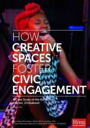 HOW CREATIVE SPACES FOSTER CIVIC ENGAGEMENT