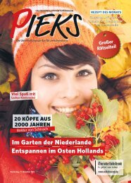 Das Regionale Patientenmagazin - Pieks 11/2015