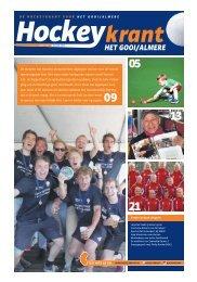 Hockeykrant Gooi Almere najaar 2015