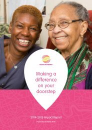 Making a difference on your doorstep
