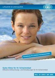 Gutes Klima für Ihr Schwimmbad - HANSA Klima