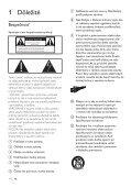 Philips Heritage Audio Sistema Hi-Fi component - Istruzioni per l'uso - SLK - Page 4