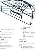 Philips sistema docking per l'intrattenimento - Istruzioni per l'uso - FIN - Page 7