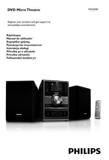 Philips Sistema Micro DVD classico - Istruzioni per l'uso - SLK