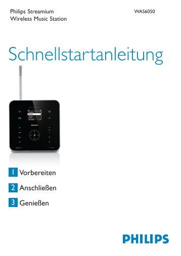 Philips Streamium Stazione musicale wireless - Guida rapida - DEU