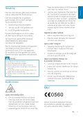 Philips Sistema mini Hi-Fi - Istruzioni per l'uso - SWE - Page 5