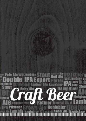 NEV Craft Beer Heft 09/2015