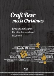 NEV Craft Beer meets Christmas 09/2015