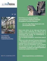 e-ArquiNoticias N° 28 nota N° 1 El Art Decó en la pampa Argentina una arquitectura cargada de ideología El arquitecto Francisco Salamone